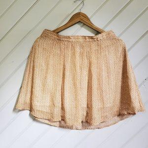 🆕️ 🍂ON 🍂 Autumn Chevron Flutter Layer Skirt